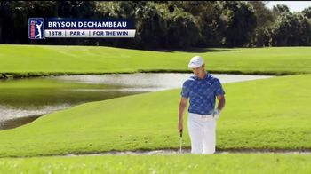 PGA TOUR Must-See-Moments Sweepstakes TV Spot, 'For the Win' Featuring Bryson DeChambeau - 13 commercial airings