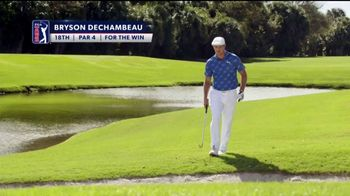 PGA TOUR Must-See-Moments Sweepstakes TV Spot, 'For the Win' Featuring Bryson DeChambeau - Thumbnail 1