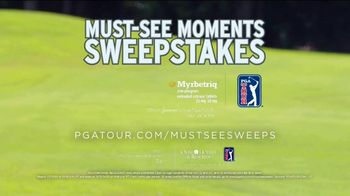 PGA TOUR Must-See-Moments Sweepstakes TV Spot, 'For the Win' Featuring Bryson DeChambeau - Thumbnail 9