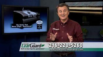 LeafGuard of Cleveland Winter Half Off Sale TV Spot, 'Rain, Sleet or Snow'