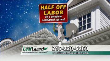 LeafGuard of Cleveland Winter Half Off Sale TV Spot, 'Rain, Sleet or Snow' - Thumbnail 6