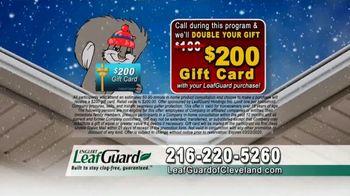 LeafGuard of Cleveland Winter Half Off Sale TV Spot, 'Rain, Sleet or Snow' - Thumbnail 7