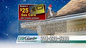 LeafGuard of Cleveland Winter Half Off Sale TV Spot, 'Rain, Sleet or Snow' - Thumbnail 8