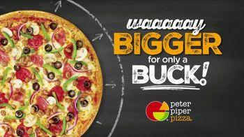 Peter Piper Pizza Way Bigger for a Buck TV Spot, 'Math' - Thumbnail 2