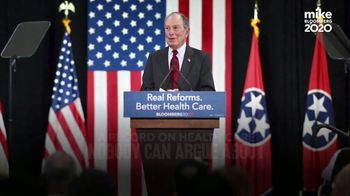 Mike Bloomberg 2020 TV Spot, 'Record on Health Care'