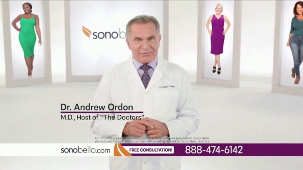 Sono Bello TV Commercial, 'Body Fat Removal: Save $250' Featuring Dr. Andrew Ordon