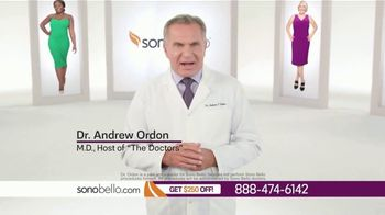 Sono Bello TV Spot, 'Body Fat Removal: Save $250' Featuring Dr. Andrew Ordon - Thumbnail 4
