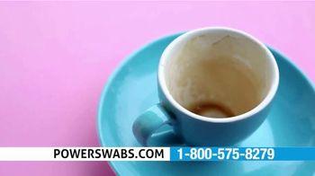 Power Swabs TV Spot, 'Coffee Smile: Freebies' - Thumbnail 1