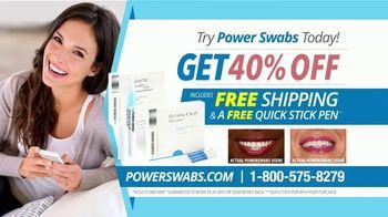 Power Swabs TV Spot, 'Coffee Smile: Freebies'