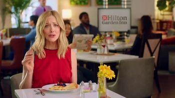 Hilton Garden Inn TV Spot, 'Judy Eats Breakfast' Featuring Judy Greer - Thumbnail 1