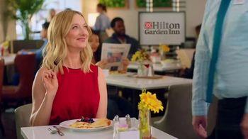 Hilton Garden Inn TV Spot, 'Judy Eats Breakfast' Featuring Judy Greer - Thumbnail 10