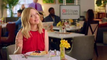 Hilton Garden Inn TV Spot, 'Judy Eats Breakfast' Featuring Judy Greer - Thumbnail 2