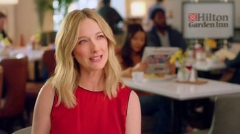 Hilton Garden Inn TV Spot, 'Judy Eats Breakfast' Featuring Judy Greer