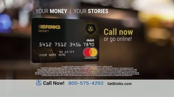 Brinks Money Prepaid Mastercard TV Spot, 'Your Stories' - Thumbnail 4
