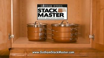 Gotham Steel Stack Master Cookware TV Spot, 'Get Your Space Back: 17 Piece Collection'