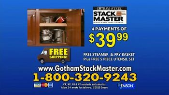 Gotham Steel Stack Master Cookware TV Spot, 'Get Your Space Back: 17 Piece Collection' - Thumbnail 10