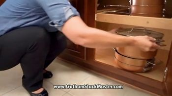 Gotham Steel Stack Master Cookware TV Spot, 'Get Your Space Back: 17 Piece Collection' - Thumbnail 3