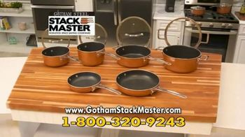 Gotham Steel Stack Master Cookware TV Spot, 'Get Your Space Back: 17 Piece Collection' - Thumbnail 7