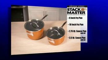 Gotham Steel Stack Master Cookware TV Spot, 'Get Your Space Back: 17 Piece Collection' - Thumbnail 8