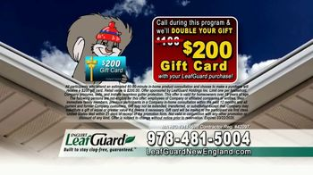 LeafGuard of New England Winter Half Off Sale TV Spot, 'Give up Gutter Cleaning Forever' - Thumbnail 9