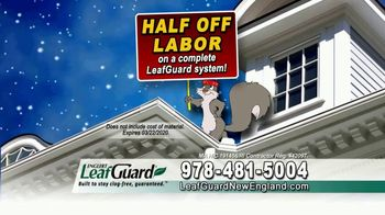 LeafGuard of New England Winter Half Off Sale TV Spot, 'Give up Gutter Cleaning Forever' - Thumbnail 6