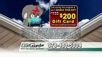 LeafGuard of New England Winter Half Off Sale TV Spot, 'Give up Gutter Cleaning Forever' - Thumbnail 8