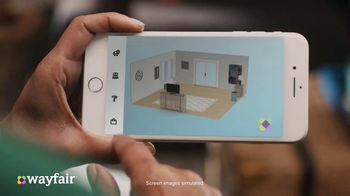 Wayfair TV Spot, 'Living Room Switch Up' Featuring Kelly Clarkson - Thumbnail 5