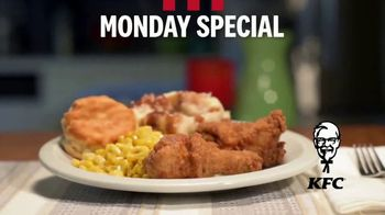 KFC Chicken and Corn Monday Special TV Spot, 'It's Back'