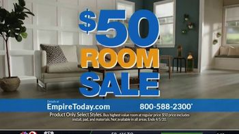 Empire Today $50 Room Sale TV Spot, 'Update Your Floors: All Other Rooms' - Thumbnail 2