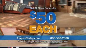 Empire Today $50 Room Sale TV Spot, 'Update Your Floors: All Other Rooms' - Thumbnail 3