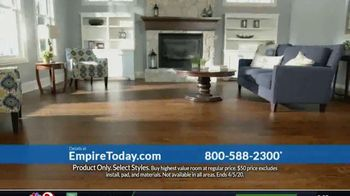 Empire Today $50 Room Sale TV Spot, 'Update Your Floors: All Other Rooms'