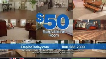 Empire Today $50 Room Sale TV Spot, 'Update Your Floors: All Other Rooms' - Thumbnail 6