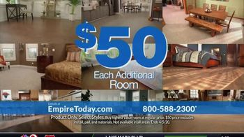 Empire Today $50 Room Sale TV Spot, 'Update Your Floors: All Other Rooms' - Thumbnail 7