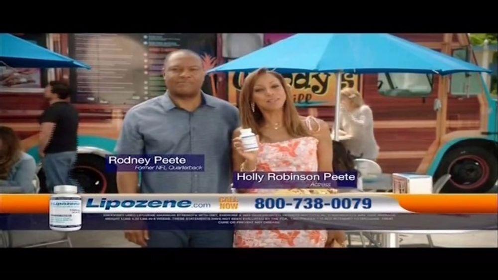 Lipozene TV Commercial, 'Favorite Food Truck' Feat. Holly Robinson Peete, Rodney Peete
