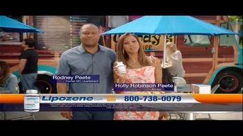 Lipozene TV Spot, 'Favorite Food Truck' Feat. Holly Robinson Peete, Rodney Peete