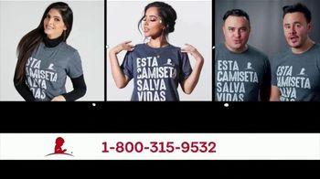 St. Jude Children's Research Hospital TV Spot, 'Esta camiseta salva vidas' con Sofia Reyes, Banda MS [Spanish] - Thumbnail 5