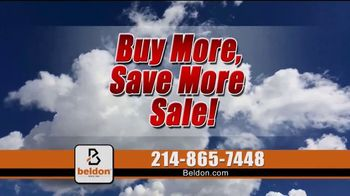 Beldon Windows Buy More, Save More Sale TV Spot, 'Consumer Reports Rating'