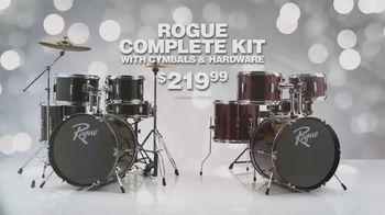 Guitar Center TV Spot, 'Rogue Drum Sets and Sabian Performance Pack' Song by Lookas - Thumbnail 5