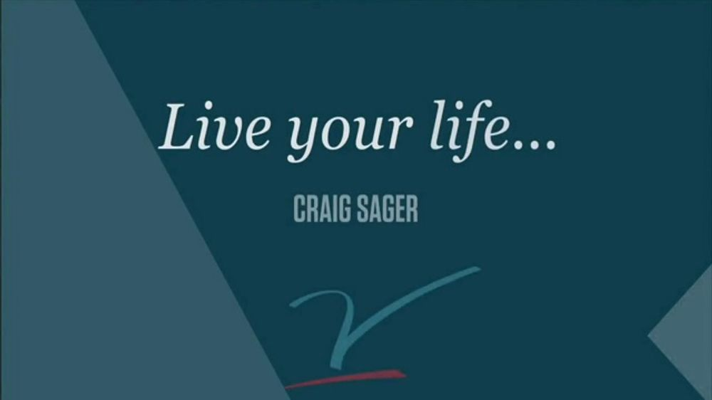 The V Foundation for Cancer Research TV Commercial, 'Craig Sager: Time'
