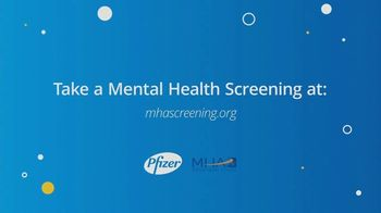 Pfizer, Inc. TV Spot, 'Mental Health'