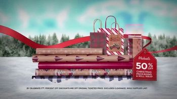 Michaels Wrap It up Gift Event TV Spot, 'Kids' Gifts, Art Supplies, and Wrapping' - Thumbnail 6