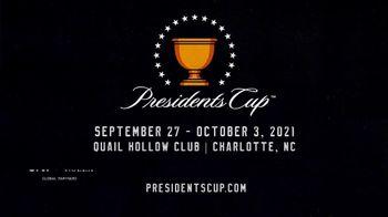 PGA TOUR 2021 Presidents Cup TV Spot, 'Charlotte: Quail Hollow Club' - Thumbnail 10