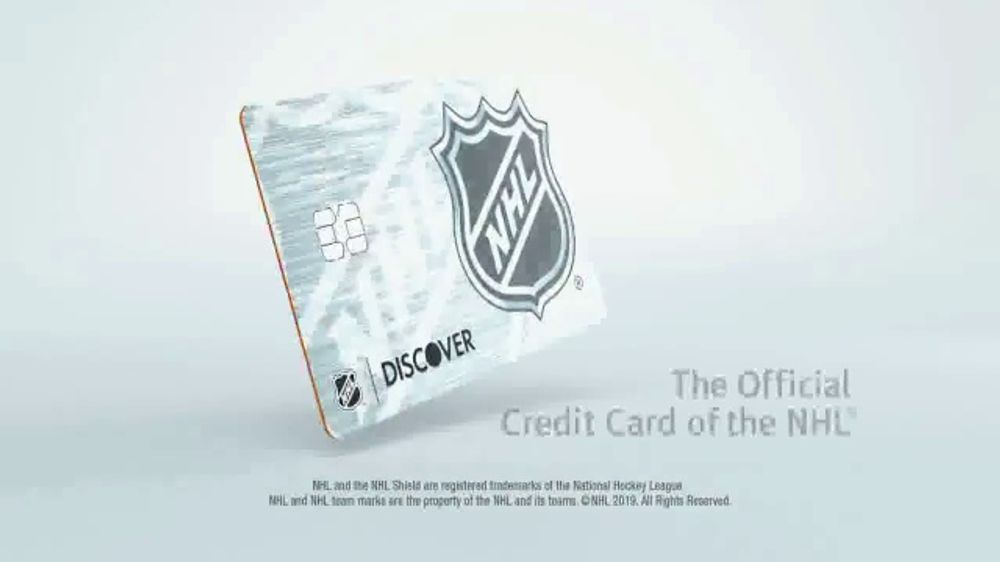 Discover Card TV Commercial, 'Official Credit Card of the NHL' - iSpot.tv