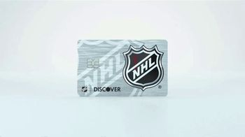 Discover Card TV Spot, 'Official Credit Card of the NHL' - Thumbnail 1
