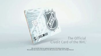 Discover Card TV Spot, 'Official Credit Card of the NHL' - Thumbnail 9