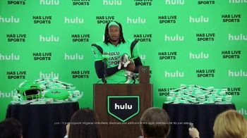 Hulu TV Spot, 'Live TV Press Conference' Featuring Todd Gurley - Thumbnail 1