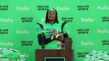 Hulu TV Spot, 'Live TV Press Conference' Featuring Todd Gurley