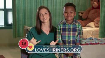 Shriners Hospitals for Children TV Spot, 'Send Your Love' - Thumbnail 4