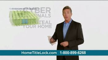 Home Title Lock TV Spot, 'Defend Your Home From Home Title Theives'