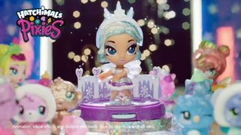 Hatchimals CollEGGtibles Season 6.5 The Royal Snow Ball TV Spot, 'Accessories in Every Egg' - Thumbnail 9